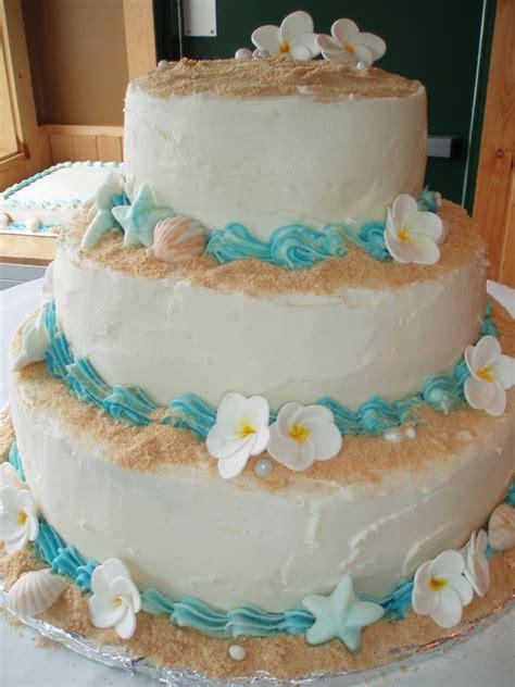 Beach Wedding Cake Cakecentralcom