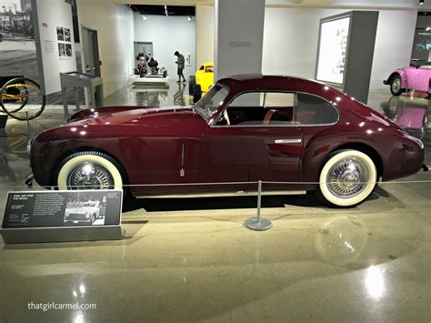 Los Angeles Automobile Museum by My Favorite Rides At The Petersen Automotive Museum