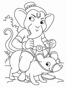 Simple ganesha drawing for kids … | Pinteres…