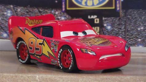 determined lightning mcqueen   cars mattel piston