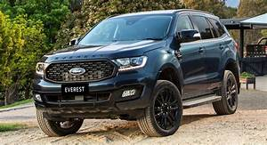 2020 Ford Everest Sport Launched Down Under With A More Dynamic Look | Carscoops