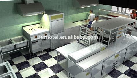 fast food kitchen design مطبخ مطعم للوجبات السريعة جواديلوب bkb shinelong المشروع 7173