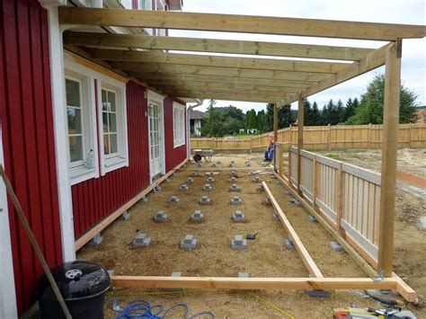Baden In Holz by Bau Eines Roten Schwedenhauses Mit R 246 Rvikshus Musterhaus