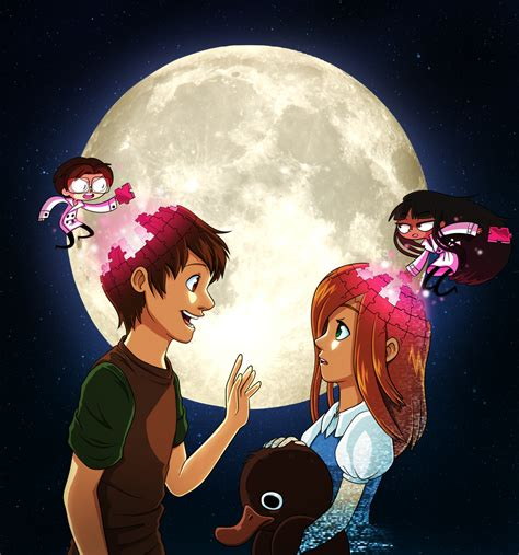 To The Moon By Tv Show On Deviantart