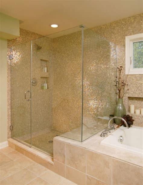 bathroom tub surround tile ideas geflieste dusche 25 wunderschöne bilder archzine