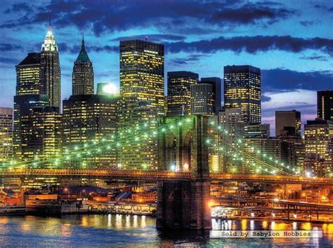 1500 Pcs Jigsaw Puzzle Skyline New York (famous Places