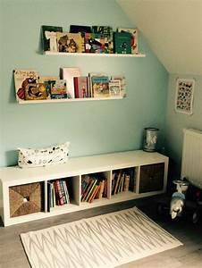 Bibliotheque Ikea Enfant : ikea hack chambre enfant bibliotheque expedit tag res ribba salle de jeux pinterest ikea ~ Teatrodelosmanantiales.com Idées de Décoration