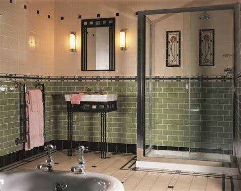 Bathroom Tiles And Decor by Original Style Artworks Mackintosh Bathroom Deco