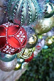 martha stewart christmas ornaments