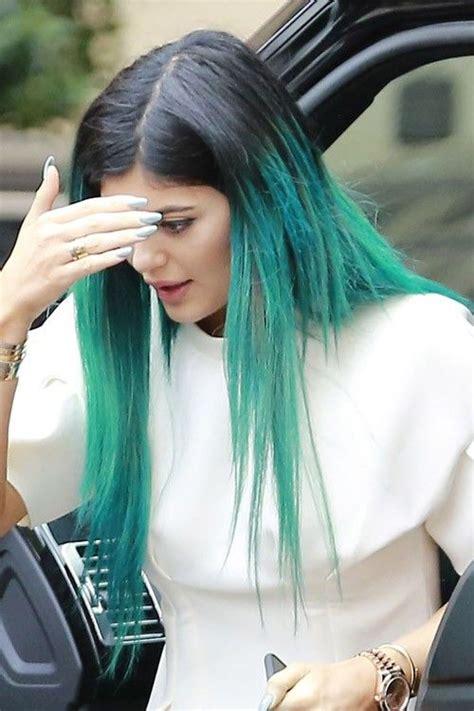 kylie jenner blue hair google search hair  beauty