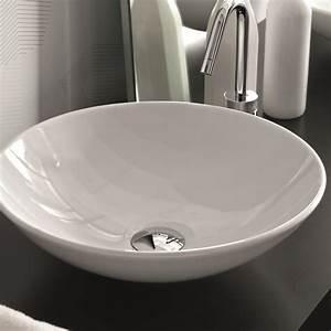 Waschbecken Mit Ablage : waschbecken rund mit finest edelstahl einbausple ~ Lizthompson.info Haus und Dekorationen