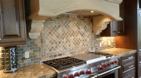 slate tile kitchen backsplash slate kitchen backsplash traditional other metro by