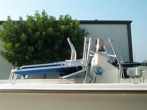 Folding T Top For Center Console Boats by Folding And Pivoting T Tops Photo Gallery By Welding