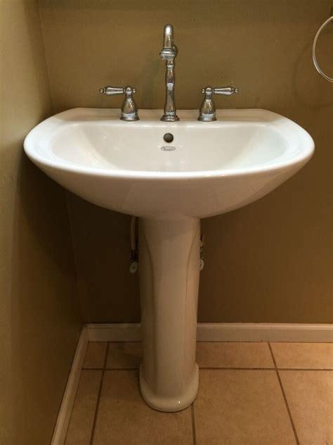 Pedestal Sink by American Standard Pedestal Sink Combo Ebay