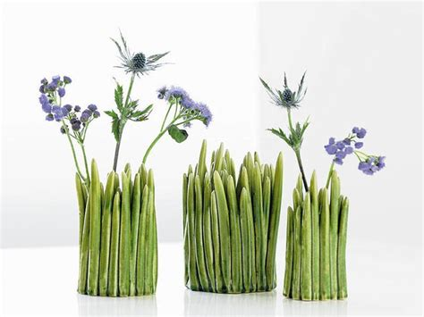 grass vase the grass vase by claydies funny how flowers do that