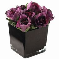 Artificial Black Roses