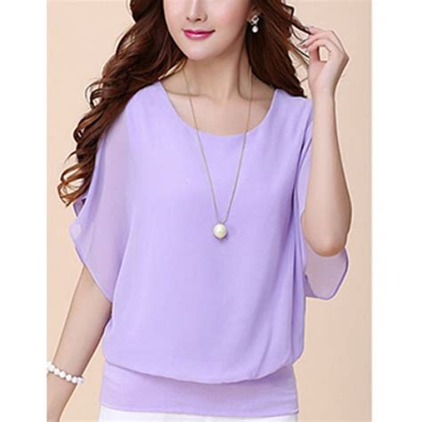 purple blouse womens regular t shirt blouse for purple