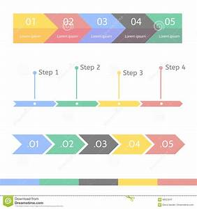 Progress Bar Statistic Concept  Business Process Step By