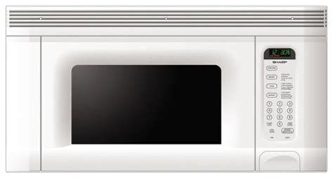 sharp 1 4 cu ft the range microwave white r1406 best buy