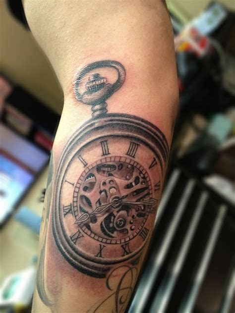 Pocket Watch Tattoos Designs, Ideas And Meaning Tattoos