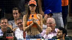 Scantily-Clad Astros Fan Wows the Internet With Striking ...