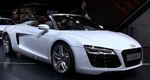 Audi Paris Est Evolution : 2013 audi r8 facelift revealed in paris autoevolution ~ Gottalentnigeria.com Avis de Voitures