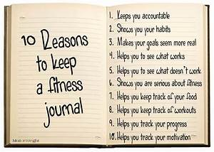 MotiveWeight: 10 Reasons To Keep A Fitness Journal