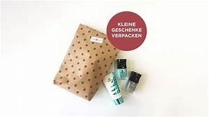 Kleine Geschenke Verpacken : how to kleine beauty geschenke verpacken click care ~ Orissabook.com Haus und Dekorationen