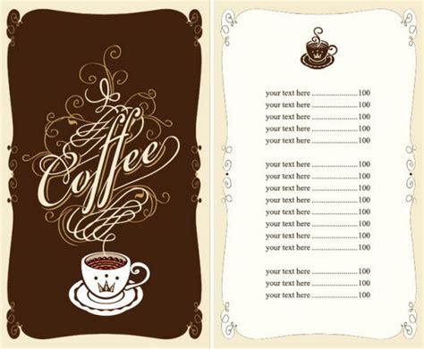 Cafe Menu Template by 50 Free Psd Restaurant Flyer Menu Templates