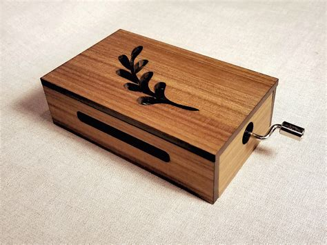 We make custom music boxes with custom songs! Tabor Music Box Your Custom Song Optional Wood Engraved | Etsy