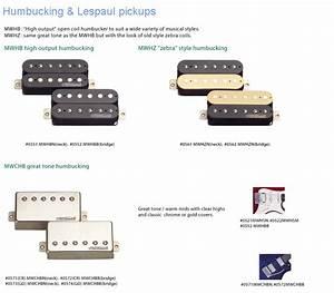 Wilkinson Humbucker  U0026 Les Paul Pickups