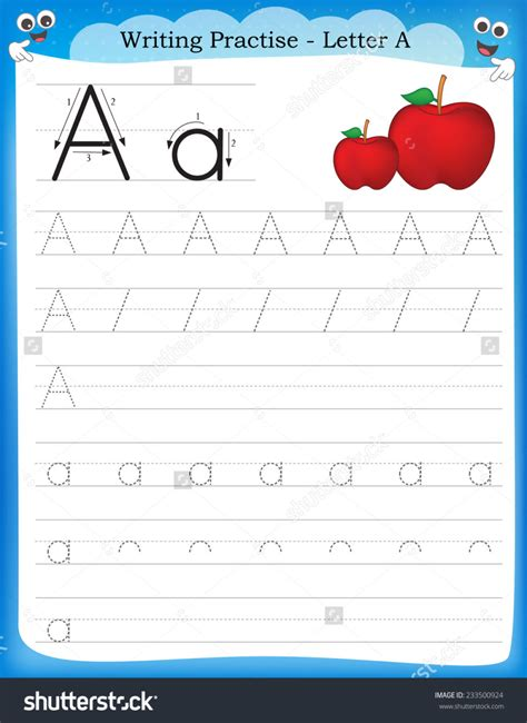 worksheet for preschool english worksheets for kindergarte