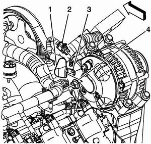 Wiring Diagram Database  2006 Chevy Impala Serpentine Belt