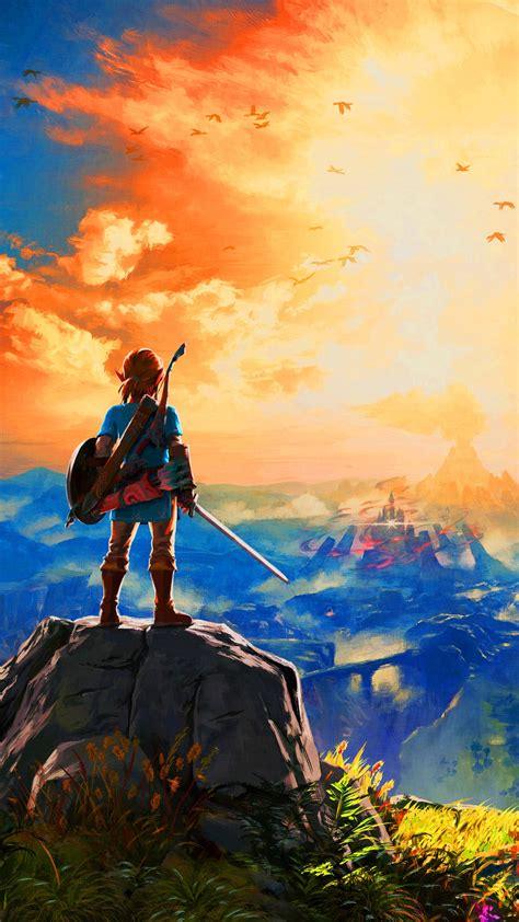 Fan Art: Legend of Zelda: Breath of the Wild phone