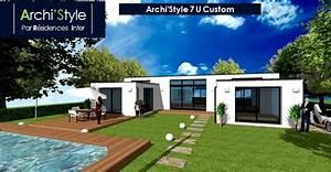 Maison Sans Toit : maison moderne sans toit menuiserie ~ Farleysfitness.com Idées de Décoration