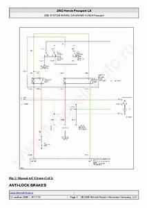 Honda Passport Lx 2002 Wiring Diagrams Sch Service Manual