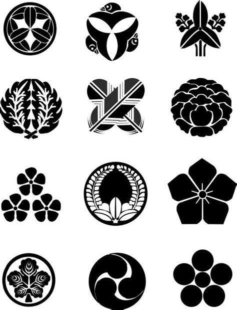 samurai symbols feature  samurai house japan pinterest samurai house  symbols