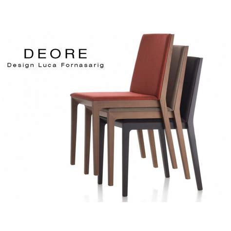 chaise bois design chaise design bois deore piétement peint noir assise et