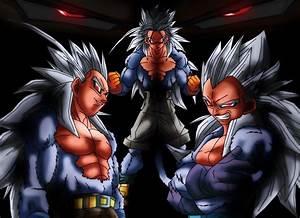 Dragon Ball Z Vegeta Super Saiyan 5