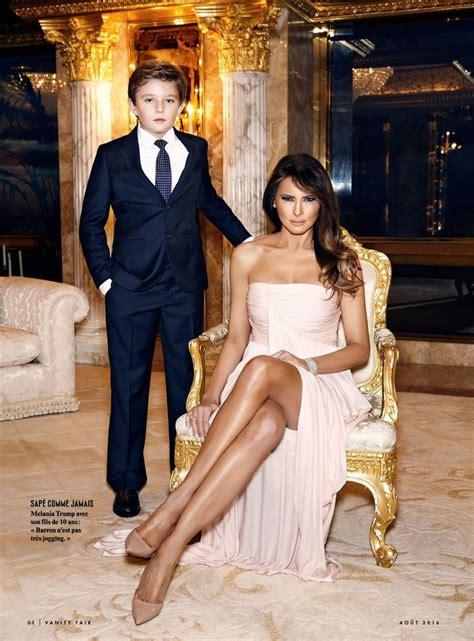 Arts Cross Stitch Model Fashion Designer Donald Melania Trump Vanity Fair France