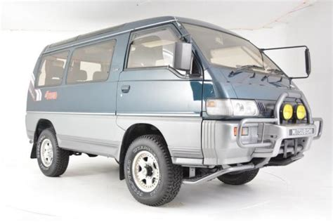 1991 mitsubishi delica exceed 5 speed 4wd 54 700 2 4l 4 cyl manual for sale
