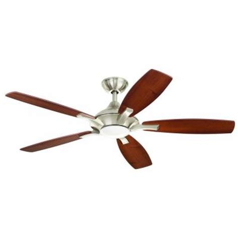 home decorators collection ceiling fan home decorators collection petersford 52 in led brushed