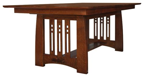 stickley self storing dining table 89 91 598