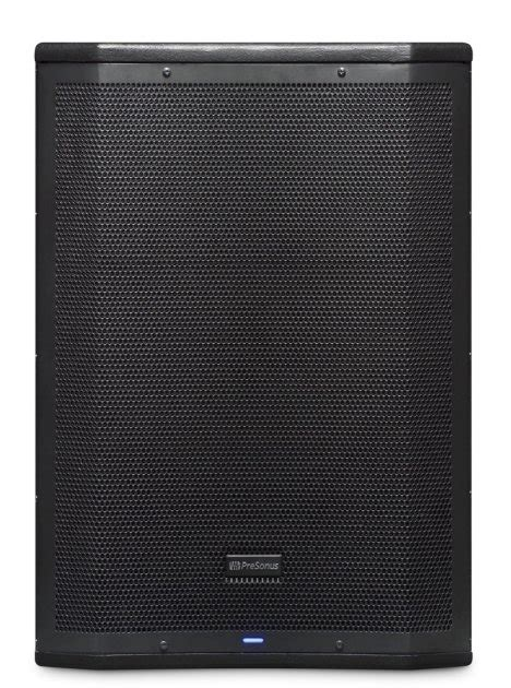 presonus airs active powered subwoofer speaker zzounds