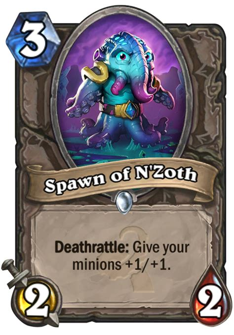 Top Tier Hearthstone Decks by Spawn Of N Zoth Hearthstone Card