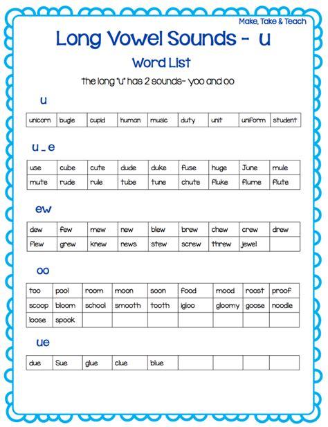 teaching vowel spelling patterns literacy