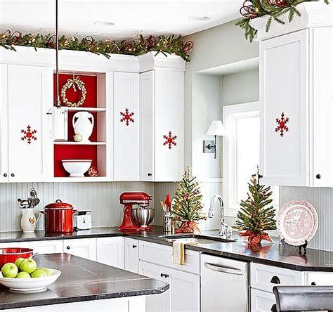 cuisine noel décorez votre cuisine pour un noël spécial bricobistro