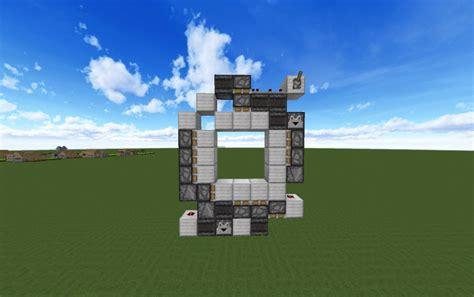 piston door creation