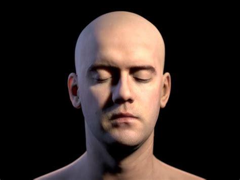 3D mans head | CGTrader