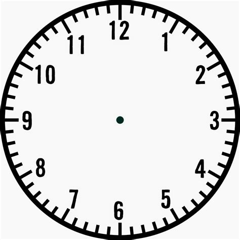 clock template blank clock template clipart panda free clipart images